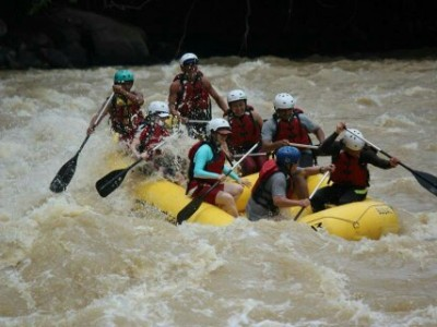 White water rafting kiulu river tamparuli