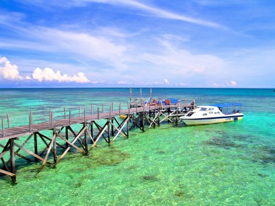 Mantanani Island Sabah, Borneo, Malaysia