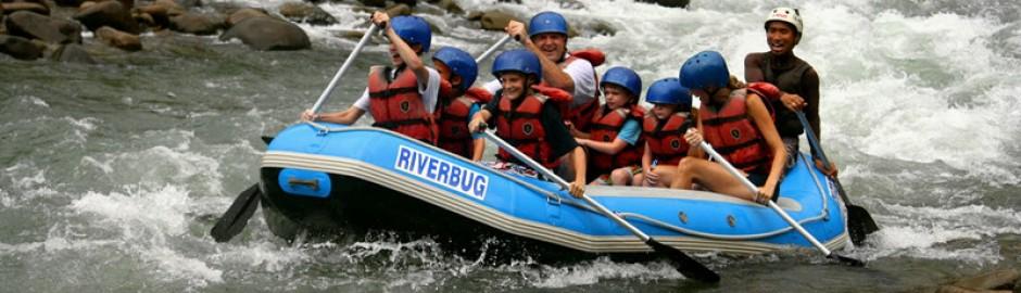 Padas River White Water Rafting 巴达斯激流泛舟
