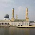 #visit kota kinabalu sabah city mosque#