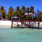 Mantanani Island jetty